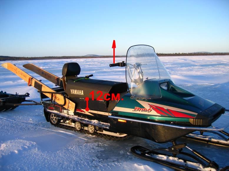 Продам снегоход ямаха br250t yamaha bravo в дальнегорске